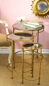 gold nesting coffee table round nesting coffee table yannickmyrtil com