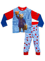 paddington clothes paddington boys paddington pyjamas age 4 to 5 years
