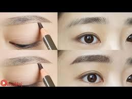 tutorial alis mata untuk wajah bulat 5 langkah mudah membuat alis lurus ala korea cosmetics beautynesia