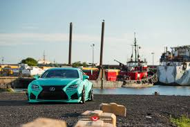 lexus rc rocket bunny turquoise rocket bunny lexus rc f with vossen wheels tapatalk