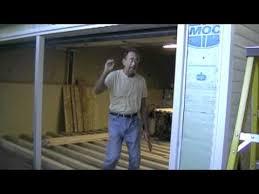 Garage Door Conversion To Patio Door Garage Shop Conversion Part 6 Removing Garage Door Build A