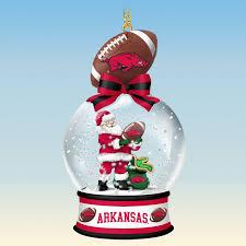 arkansas razorbacks snow globe ornaments your 1st one is free