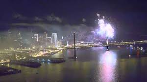 new year s celebrations live live 2016 new years fireworks celebration above san francisco