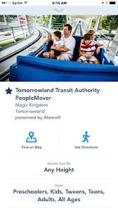 Disney Monorail Map My Disney Experience App Now Gives Directions U2022 Military Disney