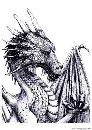 coloring pages draw a simple dragon and coloring pages draw a