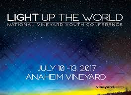Light Up The World Youth U2022 2017 Vineyard Usa National Conference Together Leaning
