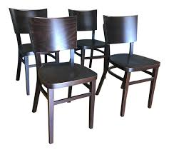 dwr kyoto dining chairs set of 4 chairish