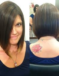 short hair in back long in front hairstyles women short front long back haircuts long front short
