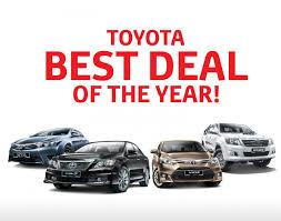 best toyota model toyota u0027best deal of the year u0027 is back lowyat net cars