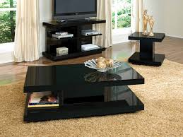 Black Living Room Tables Coffee Tables Decor Living Room Coffee Table Sets Television