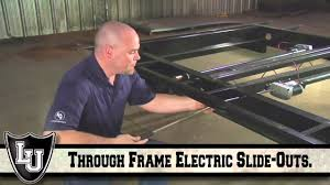 how to manually extend or retract an electric slide out system