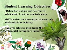 horticulture science lesson 1 understanding horticulture ppt