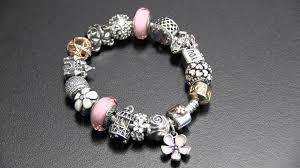 silver pink bracelet images Pandora bracelet pink jpg