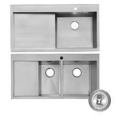 Ebay Kitchen Sinks Stainless Steel by Designer 1000mm Handmade Stainless Steel Kitchen Sink Waste Pack