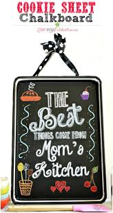 cookie sheet chalkboard little miss celebration