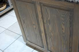 can you stain oak cabinets grey refinish dated oak cabinets flawless chaos