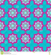 vector seamless texture arabic muslim geometric pattern with