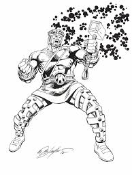 marvel comics of the 1980s my hercules commission by bob layton