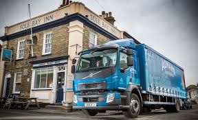 hgv volvo all in a dray u0027s work for adnams brewery u0027s new volvo fl rigids