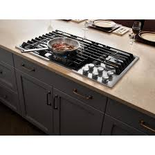Jenn Air 36 Gas Cooktop Kitchen Best 36 Jx3 Gas Downdraft Cooktop Jenn Air Within Prepare