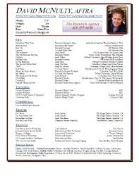 Famous Resumes 32 Acting Resumes Of Celebrities And Celebrity Wannabes