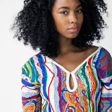 coogi classic lace back sweater dress coogi
