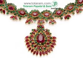 emerald ruby necklace images 22k gold ruby emerald necklace drop earrings jpg