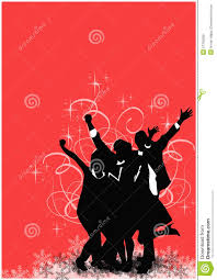 office christmas party background royalty free stock images