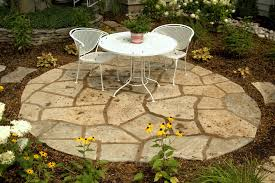 Bluestone Patio Images Flagstone And Steppers Rockford Il Benson Stone Co