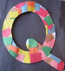 letter q crafts preschool and kindergarten