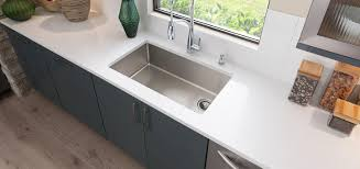 crosstown stainless steel kitchen sinks elkay