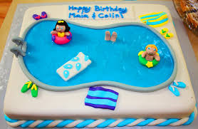 pool party cake ideas kids pool design ideas