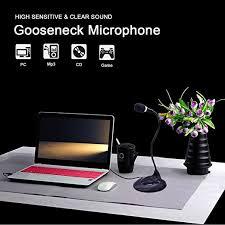 Computer Desk Microphone Valinks 3 5mm Stereo Condenser