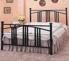 mission style iron bed beds