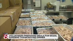 mozel sanders foundation to provide thanksgiving meals for 40 000