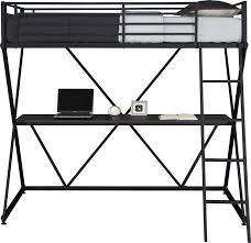 Studio Trends 46 Desk Dimensions by Amazon Com Dhp X Loft Bunk Bed Kitchen U0026 Dining