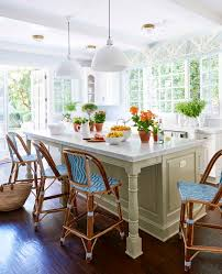 granite top kitchen island with seating marvelous french kitchen design with white cabinet surround feat
