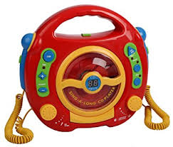 cd player kinderzimmer kinder cd player digital karaoke mit 2 mikrophone de