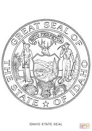 hawaii state seal coloring page contegri com