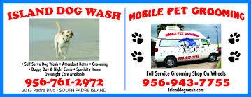 South Padre Island Map Island Dog Wash