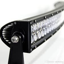 security led lights car 40 inch 240w curved led light bar off road car atv tractor offroad