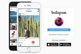 Image of Instagram phone
