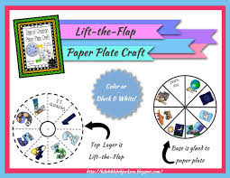 creation kids 7 paper plate project printable