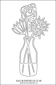 Vase Of Flowers Drawing Easy Drawings Of Flowers Drawing Of Sketch Flowers And Leaves