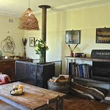 Decor With Accent Furniture Bohemian Decor With Pendant Lights And Pillow Also