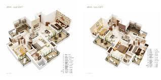 ajnara belvedere floorplan