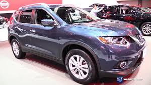 2016 nissan rogue sv exterior and interior walkaround 2015 la