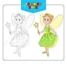 carnival costume fairy coloring book