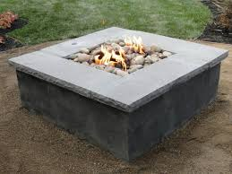 Concrete Fire Pit by Fire Pits All County Landscape Hardscape