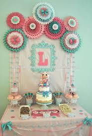 paper fans baby shower ideas decor planning decorations